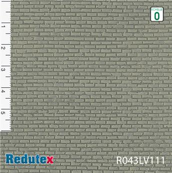 Briques irrégulières grises