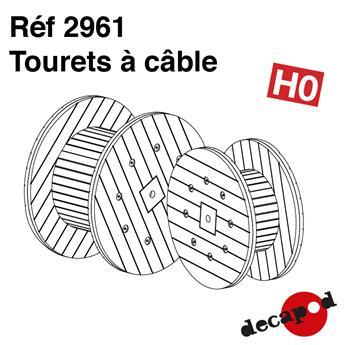 Tourets à câbles
