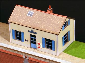 Maison éclusière canal de Bourgogne Centre