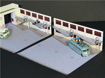 Façade extension gare routière