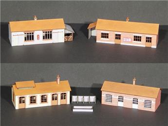 4 locaux polyvalents (dépôts, district, gare) - N