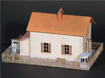 Maison de passage à niveau - Compagnie du PLM