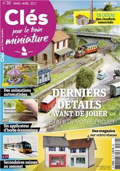 Clés pour le train miniature n° 30