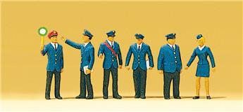 Personnel de gare - H0 - Preiser