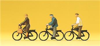 Cyclistes - H0 - Preiser