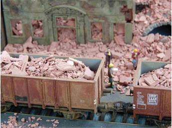 Débris de briques