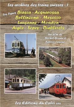 DVD Les archives des trains suisses N°1