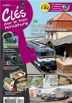 Clés pour le train miniature n° 3