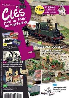 Clés pour le train miniature n° 4