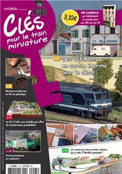 Clés pour le train miniature n° 5