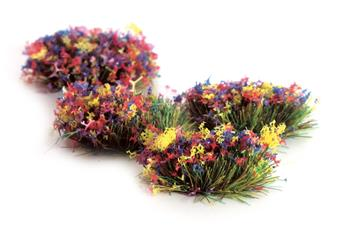 Touffes d´herbes fleuries autocollantes Static Grass