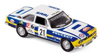 Véhicule Peugeot 504 Coupe - Rallye du Bandama 1976