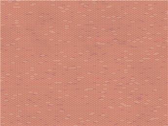 Briques neuves foncées appareil simple