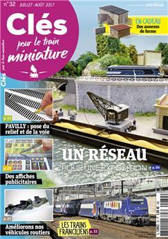 Clés pour le train miniature n° 32