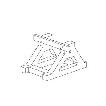 Heurtoirs bi-bloc dissymétriques Ouest
