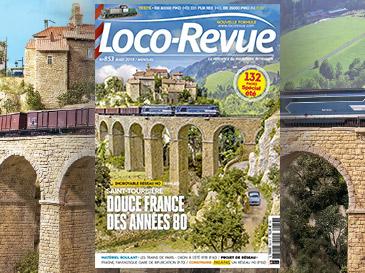 Loco-Revue n°853 août 2018 - Numéro spécial été de 132 pages !