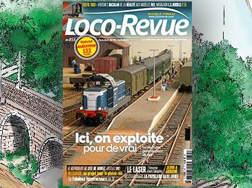Loco-Revue n°855 octobre 2018 - Spécial automne de 132 pages !