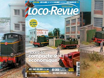 Loco-Revue n°856 novembre 2018 - NOUVEAU le plan du mois !