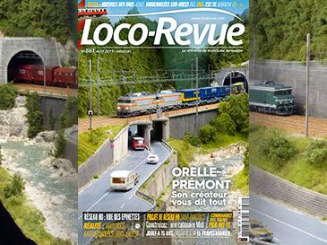 Loco-Revue n°861 avril 2019 - Réseau H0 Orelle-Prémont, caténaire en Maurienne