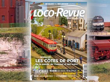 Loco-Revue n°863 juin 2019 - Les côtes de Port, de la poésie, de l'humour et des trains!