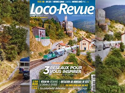 Loco-Revue n°867 - Octobre 2019 - Spécial automne 132 pages - 3 réseaux pour vous inspirer