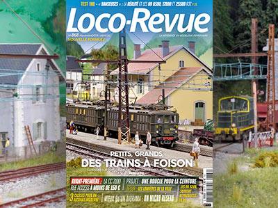 Loco-Revue n°868 - Novembre 2019 - Petits, grands, des trains à foison