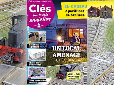 Clés pour le train miniature n°46 Novembre-Décembre, Saint-Stinat, on commence le décor