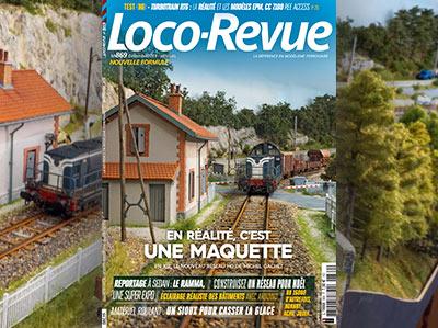 Loco-Revue n°869 - Décembre 2019 - En réalité, c'est une maquette !