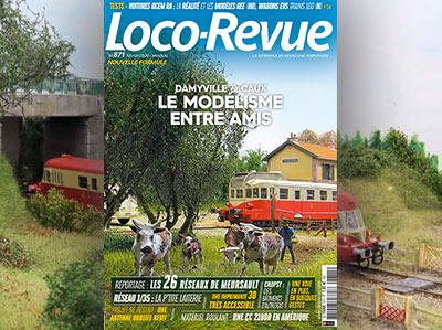 Loco-Revue n°871 - Février 2020 - Le modélisme entre amis