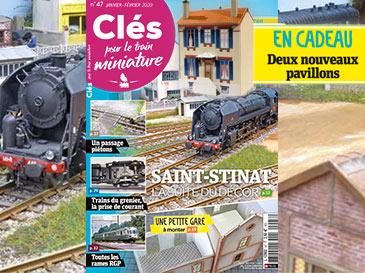 Clés pour le train miniature n°47 Janvier-Février 2020, Saint-Stinat, la suite du décor