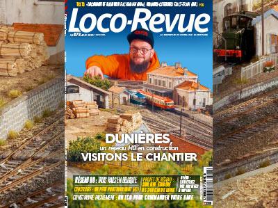 Loco-Revue n°873 - Avril 2020 - Dunières, un réseau H0 en construction, visitons le chantier