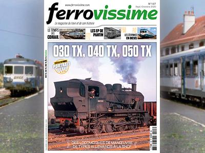 Ferrovissime n°107 - Septembre-Octobre - 030 TX, 040 TX, 050 TX
