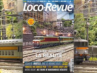Loco-Revue n°879 - Octobre - Spécial automne 132 pages, évoquer, reproduire la réalité