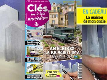 Clés n°52 Novembre-Décembre - Un tram nommé Plaisir, éclairage et fond de décor