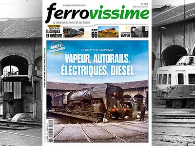 Ferrovissime n°110 - Mars - Avril 2021 - Les 030 TU charbon et fuel