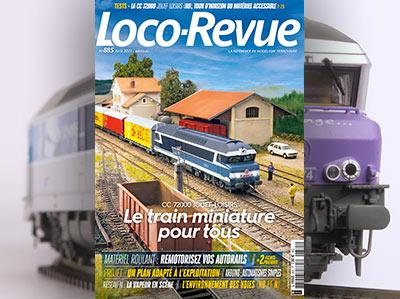 Loco-Revue n°885 - Avril 2021 - CC 72000 Jouef Loisirs, le train miniature pour tous