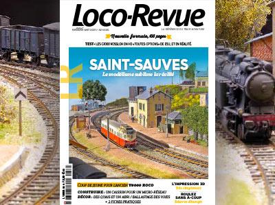 Loco-Revue n°886 - Mai 2021 - Nouvelle formule à découvrir !