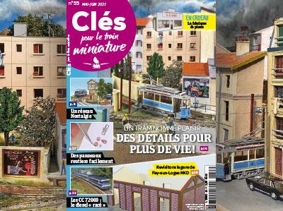Clés n°55 Mai-Juin 2021  - Un tram nommé Plaisir, des détails pour plus de vie !