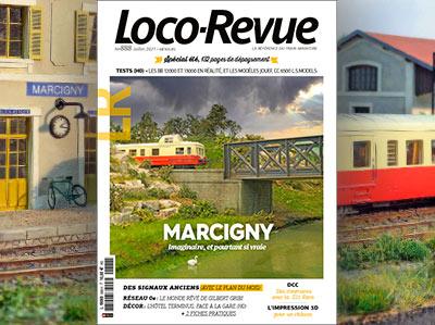 Loco-Revue n°888 - Juillet 2021 - Marcigny, imaginaire et pourtant si vraie
