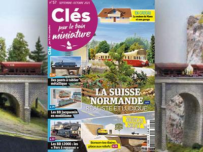 Clés n°57 Septembre-octobre 2021 - La Suisse normande réaliste et ludique