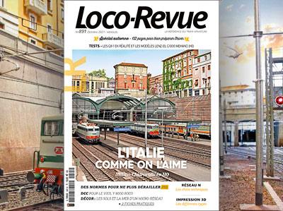 Loco-Revue n°891 - Octobre 2021 - Numéro spécial automne 132 pages
