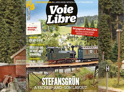 Voie Libre n°107 Octobre-Novembre-Décembre 2021 NOUVEAU ! 84 pages